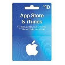 iTunes 10 USD Card