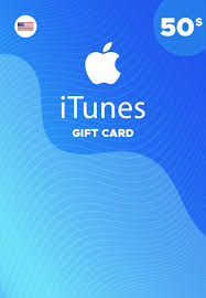 iTunes 50 USD Card