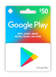 Google play 50 USD Card
